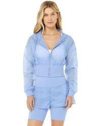 Alo Yoga Nebula Jacket - Blue