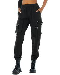 Alo Yoga Alo Yoga High-waist City Wise Cargo Pants - Black