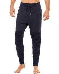Alo Yoga Technical Moto Jogger Pants - Blue