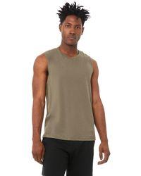 Alo Yoga Triumph Muscle Tank Top - Green