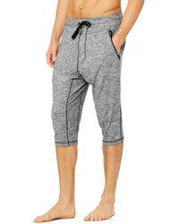 Alo Yoga Alo Yoga Balance Capri Trousers - Grey