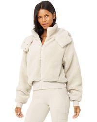 Alo Yoga - Foxy Sherpa Jacket - Lyst