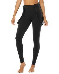 Alo Yoga Alo Yoga High-waist Alpine Suspender Legging - Black