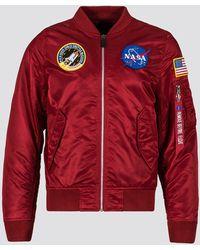 Alpha Industries Ma-1 Flight Jacket - Multicolor