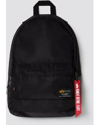 Alpha Industries Crew Backpack - Black