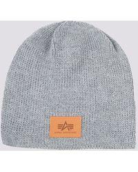 Alpha Industries Knit Beanie - Gray