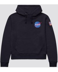 Alpha Industries - Space Shuttle Hoodie - Lyst