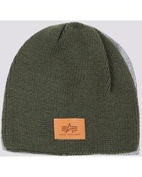 Alpha Industries Knit Beanie - Green