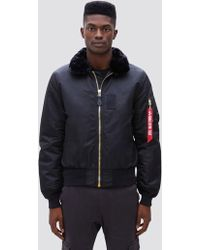 1143c48edfc Lyst - Alpha Industries Lightweight Coaches Jacket in Black for Men