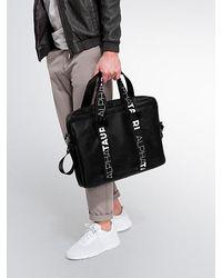 ALPHATAURI Messenger Bag - Schwarz
