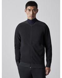 ALPHATAURI Premium Sweatjacke mit Reißverschluss - Schwarz