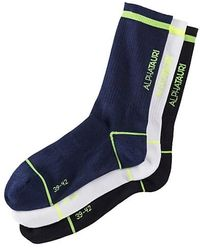 ALPHATAURI Unisex-Socken - Blau