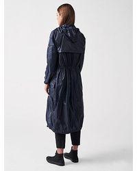 ALPHATAURI Sommerlicher Packable Mantel - Blau