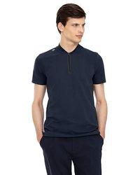 ALPHATAURI Poloshirt aus Baumwolle - Blau