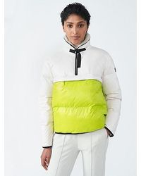 ALPHATAURI Pufferjacke mit Kunstpelzkragen - Mehrfarbig