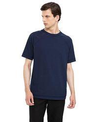 ALPHATAURI Rundhals-T-Shirt - Blau