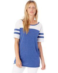 Alternative Apparel - Stadium Vintage Jersey T-shirt - Lyst