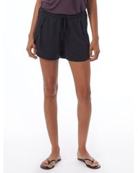 Alternative Apparel Slinky Jersey Tulip Shorts - Black