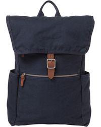 Alternative Apparel Cotton Computer Rucksack - Blue
