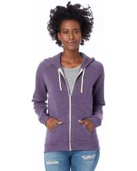 Alternative Apparel - Adrian Eco-fleece Zip Hoodie - Lyst