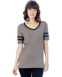 Alternative Apparel - Varsity Vintage Jersey T-shirt - Lyst