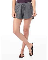 Alternative Apparel Slinky Jersey Tulip Shorts - Gray