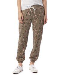 Alternative Apparel Classic Printed Eco-fleece Sweatpants - Multicolor