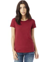Alternative Apparel | Vintage Garment Dyed Crew T-shirt | Lyst