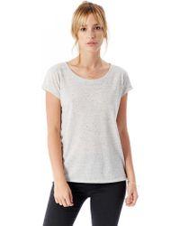 Alternative Apparel - Harbor Eco-nep Jersey T-shirt - Lyst
