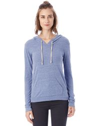 Alternative Apparel - Classic Eco-jersey Pullover Hoodie - Lyst