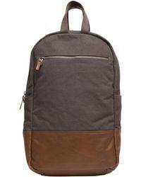 Alternative Apparel Slim Backpack - Gray
