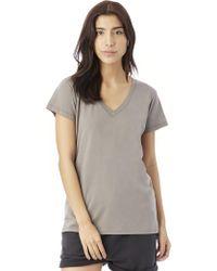 Alternative Apparel - Everyday Cotton Modal V-neck T-shirt - Lyst
