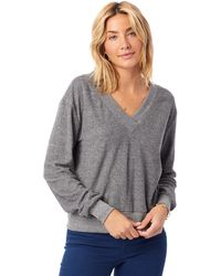 Alternative Apparel - Eco-toweling Deep V Pullover - Lyst