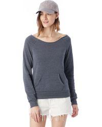 Alternative Apparel - Maniac Eco-fleece Sweatshirt - Lyst