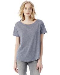 Alternative Apparel - Backstage Vintage Jersey T-shirt - Lyst