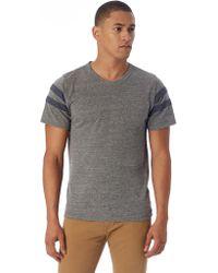 Alternative Apparel - Eco-jersey Football T-shirt - Lyst