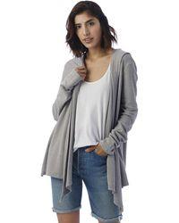 Alternative Apparel Warm Up Vintage Thermal Wrap - Gray