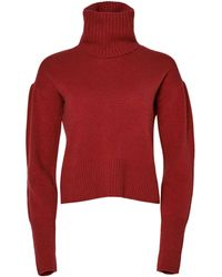 Altuzarra 'wendice' Knit Jumper - Red