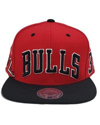 Mitchell & Ness Shorts Snapback Bulls Scottie Pippen - Red
