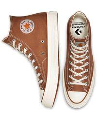 Converse X Carhartt Wip Chuck 70 High - Brown