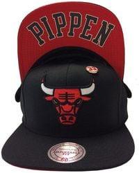 Mitchell & Ness Omni Snapback Bulls Scottie Pippen - Black