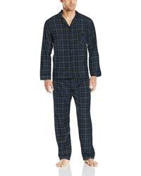 Hanes Flannel Pajama Set - Blue