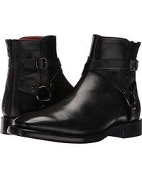 Frye Weston Cross Strap Harness Boot - Black