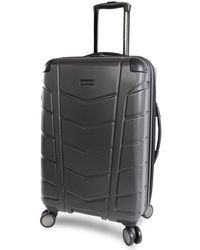 """Perry Ellis Tanner 29"""" Hardside Checked Spinner Luggage - Multicolor"""