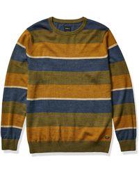 RVCA Kemper Stripe Sweater - Multicolor