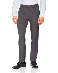 Franklin Tailored Slim-fit Dress Pants - Gray