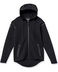 Peak Velocity Metro Fleece Full-zip Athletic-fit - Black