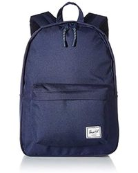 ff88d141656 Lyst - Herschel Supply Co. Classic Mid-volume (navy) Backpack Bags ...