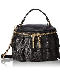 8cc3f13c2882 Lyst - Milly Perry Dot Mini Drawstring Crossbody Bag in Black