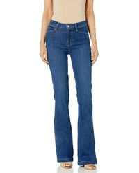 PAIGE Genevieve High Rise Bootcut Jean - Blue